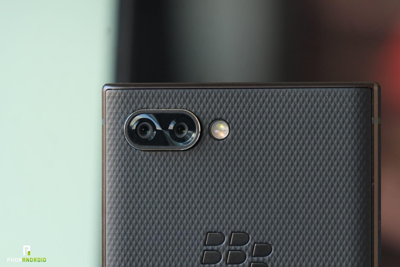 test blackberry key2 appareil photo