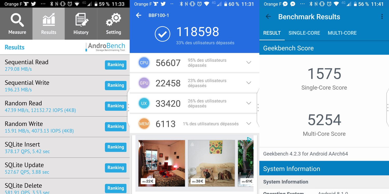 test blackberry key2 benchmarks