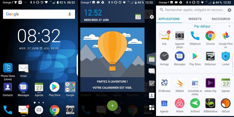test blackberry key2 interface