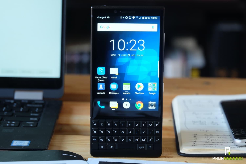test blackberry key2 performances