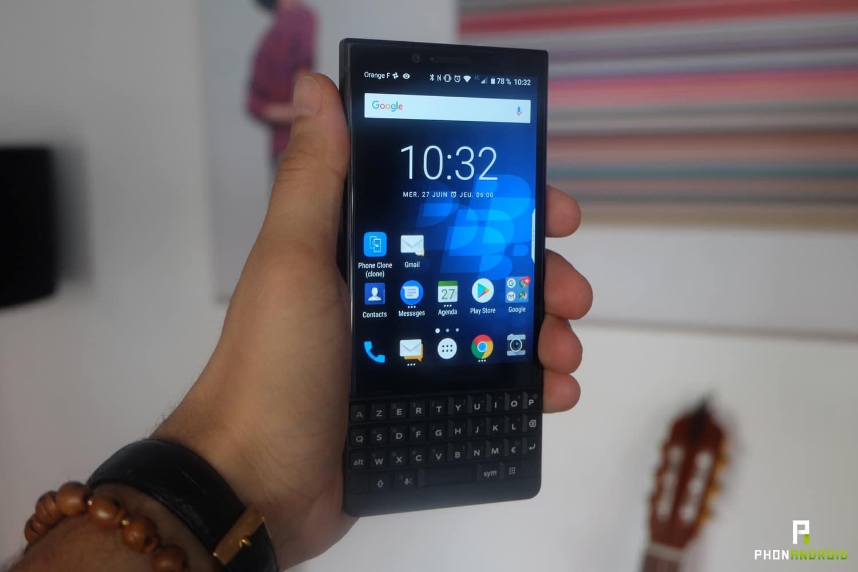 test blackberry key2
