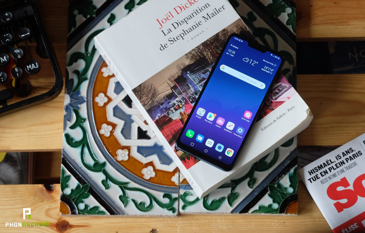 test lg g7 thinq review prix