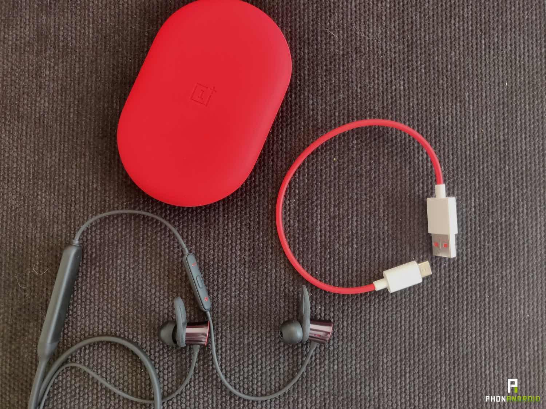 test oneplus bullets wireless autonomie