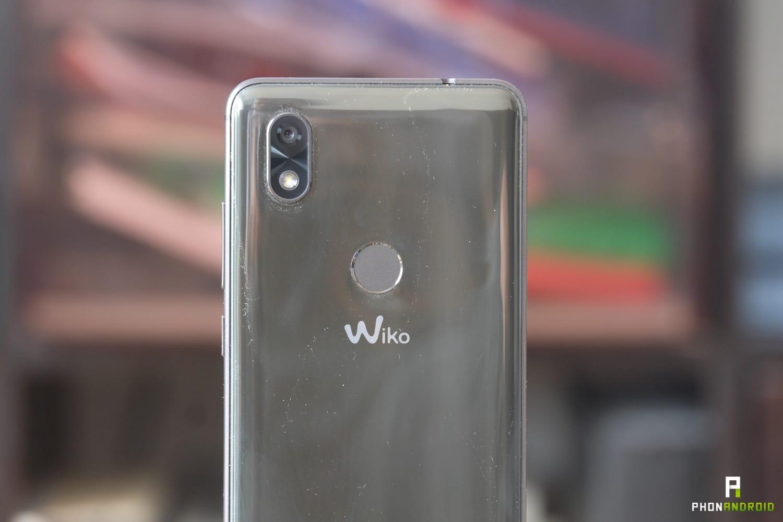 test wiko view 2 design