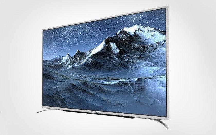 TV Led 4k uhd sharp soldes été 2018