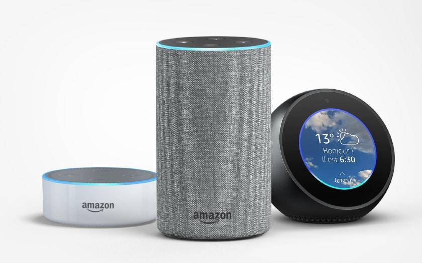 Enceintes connectées Amazon Echo