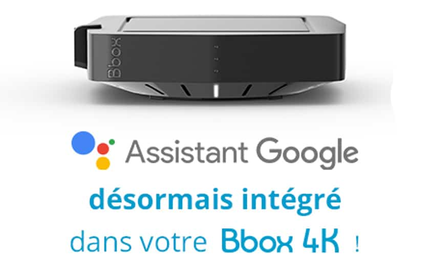 box 4K google assistant