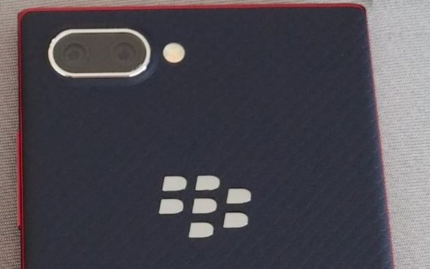 blackberry key2 lite septembre 2018