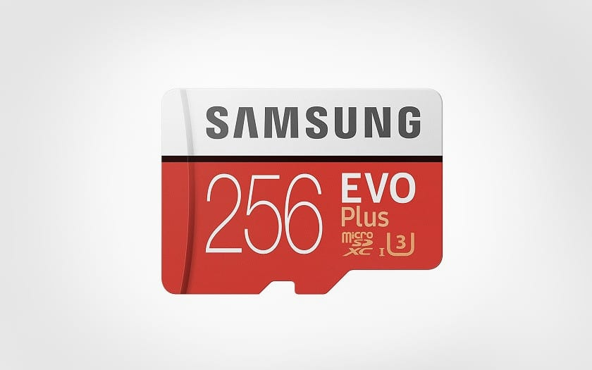 carte memoire samsung evo plus 256 go