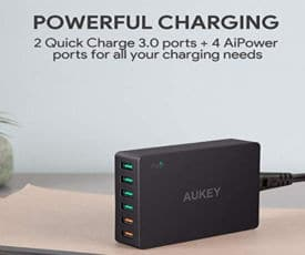 chargeur aukey