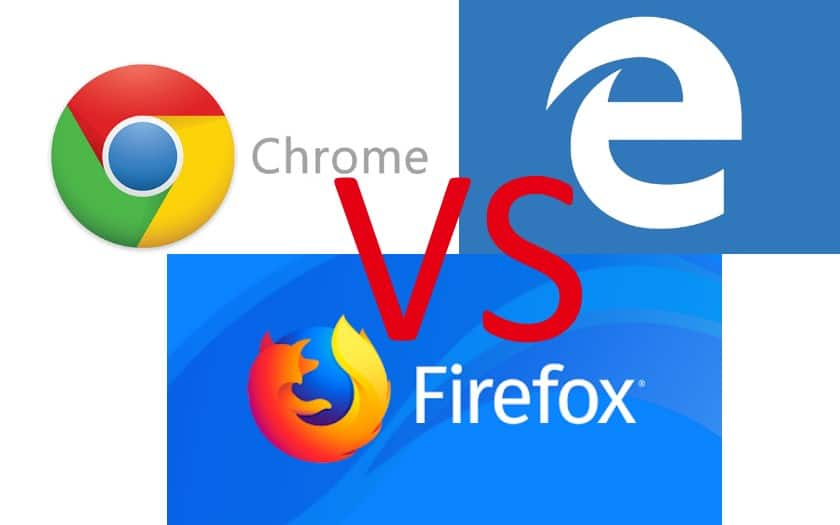 chrome vs firefox vs edge