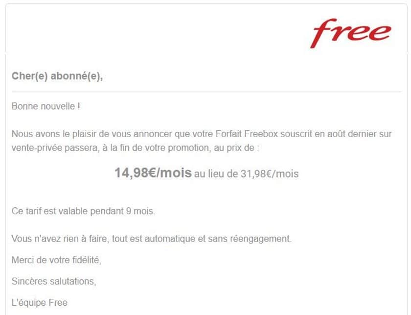 free freebox offre promotion