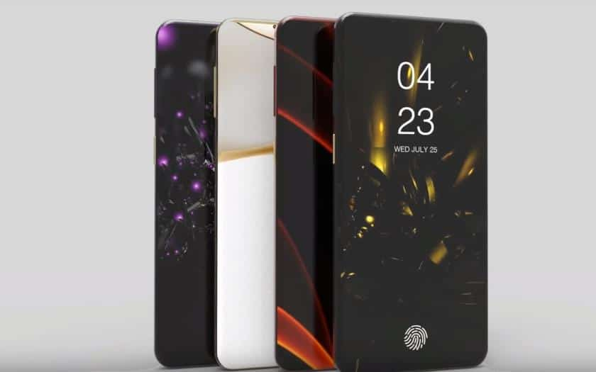 galaxy s10 concept video borderless