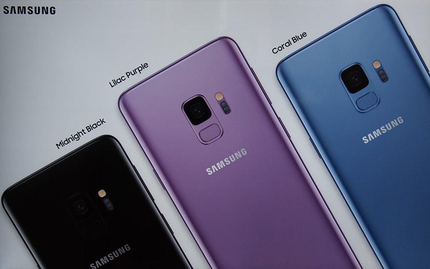 galaxy S9 ventes