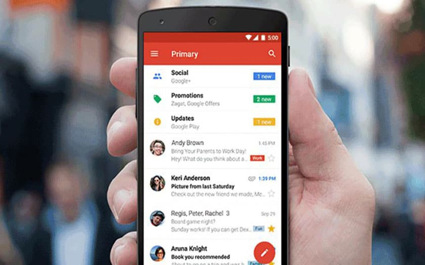 gmail android 2
