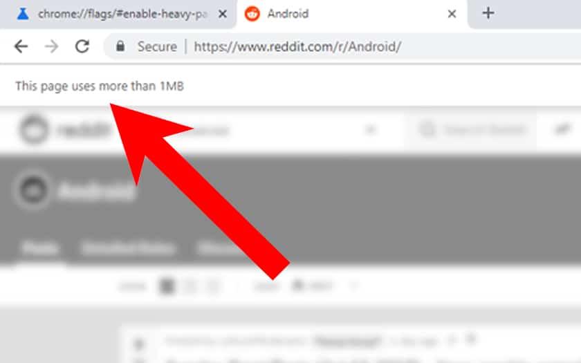 google chrome data forfait