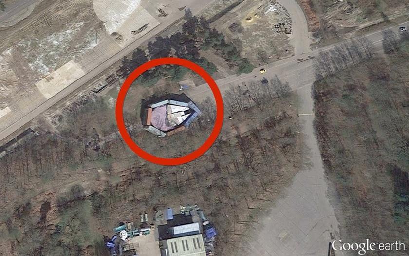 Google Earth 10 Endroits Les Plus Etranges Jamais
