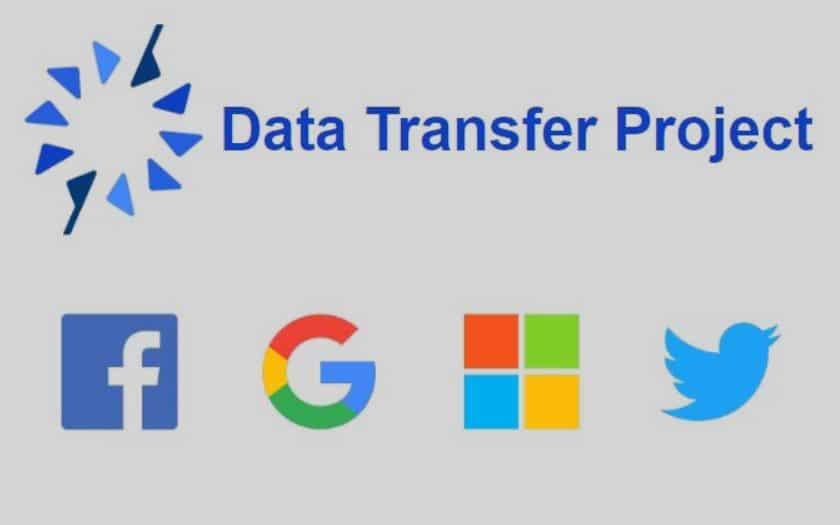 google facebook microsoft twitter data transfert project