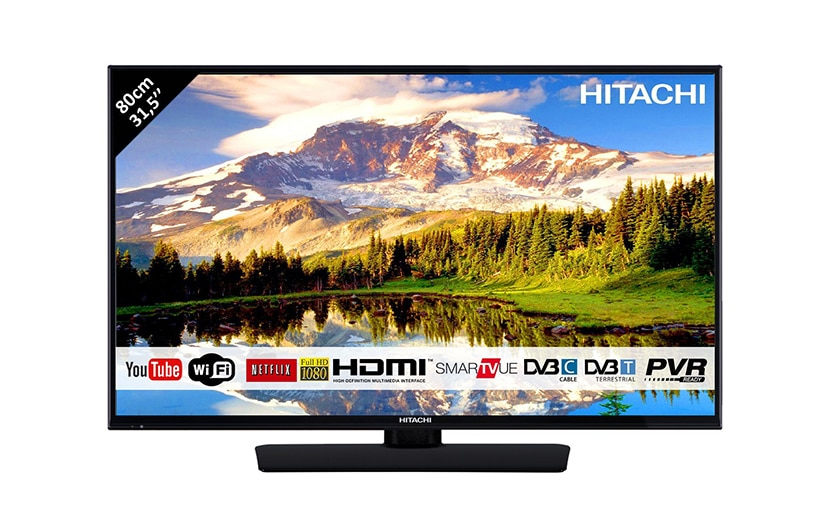 hitachi smart tv