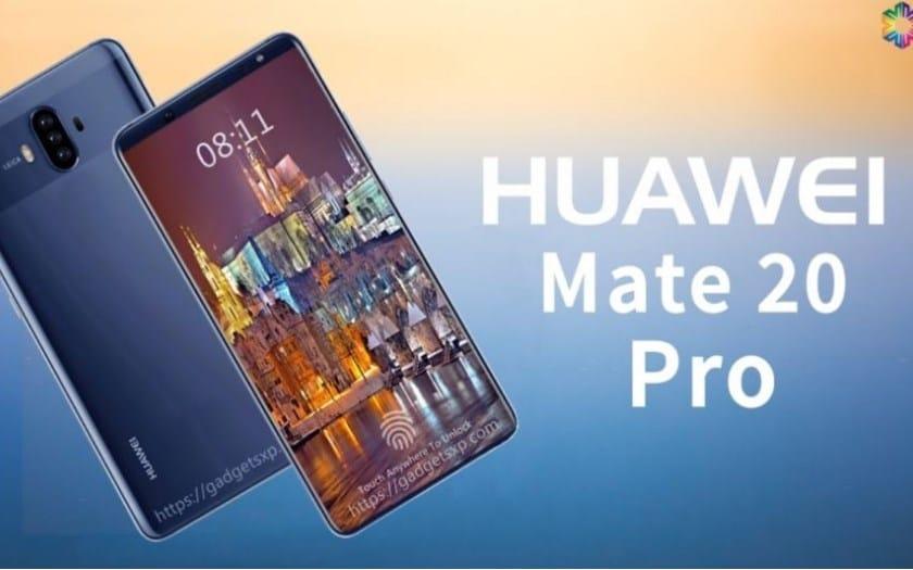 huawei mate 20 pro ecran flexible