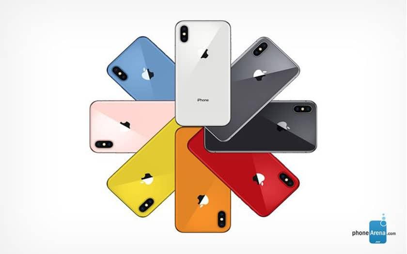 iphone coloris