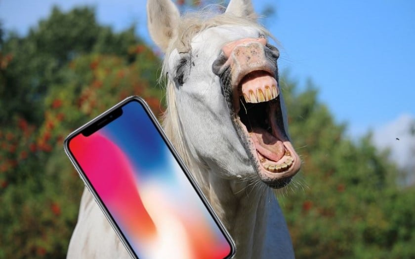 iphone x face id matin