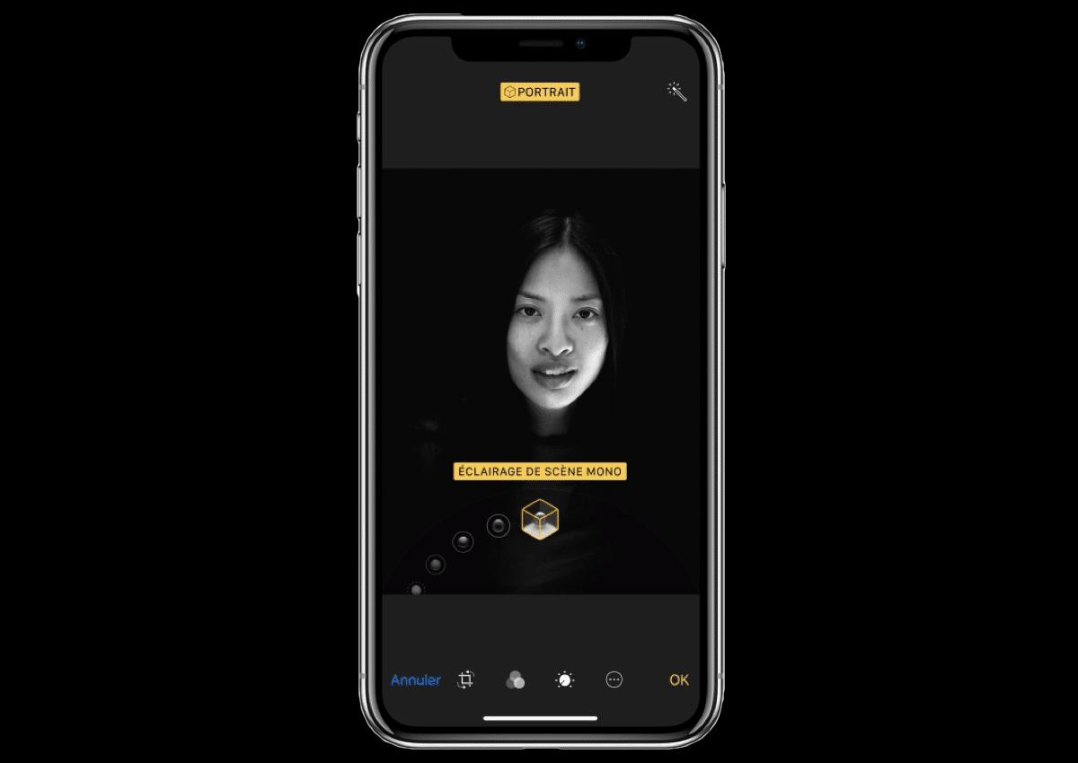 iphone x portrait studio