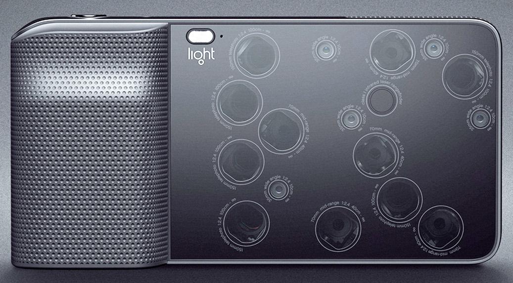 light phone 9 capteurs photo