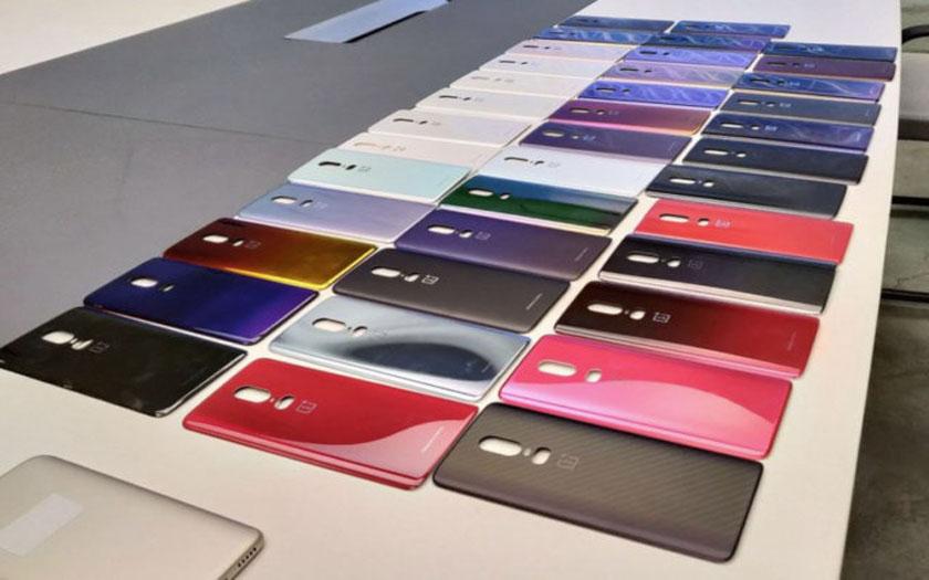 oneplus 6 coloris