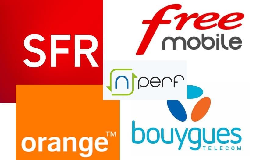 orange sfr bouygues free nperf