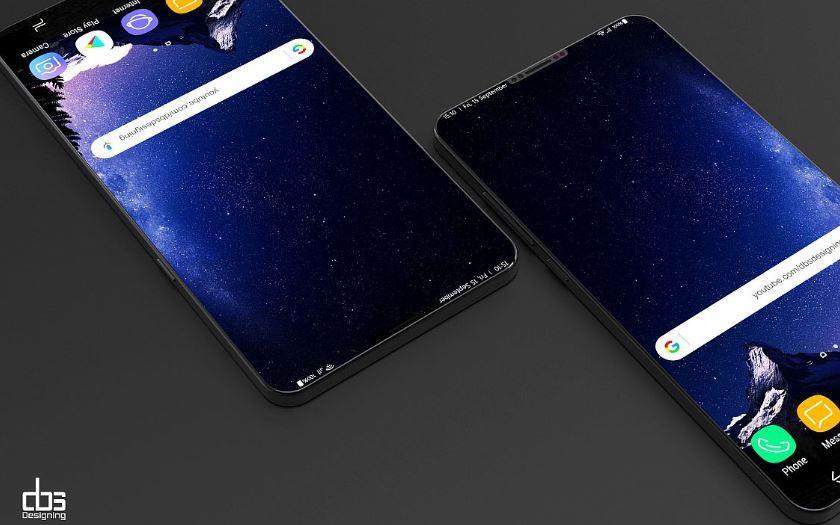 samsung smartphone 3 écrans