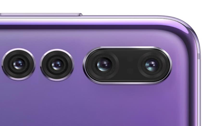 smartphone quadruple capteur photo