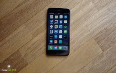 test iphone 8 plus ecran