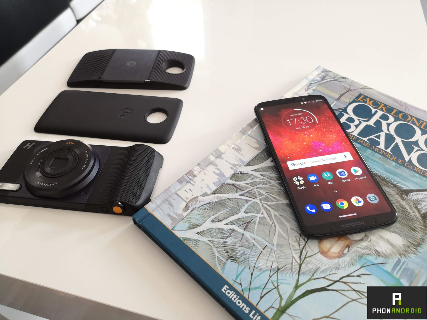 test lenovo moto z3 Play