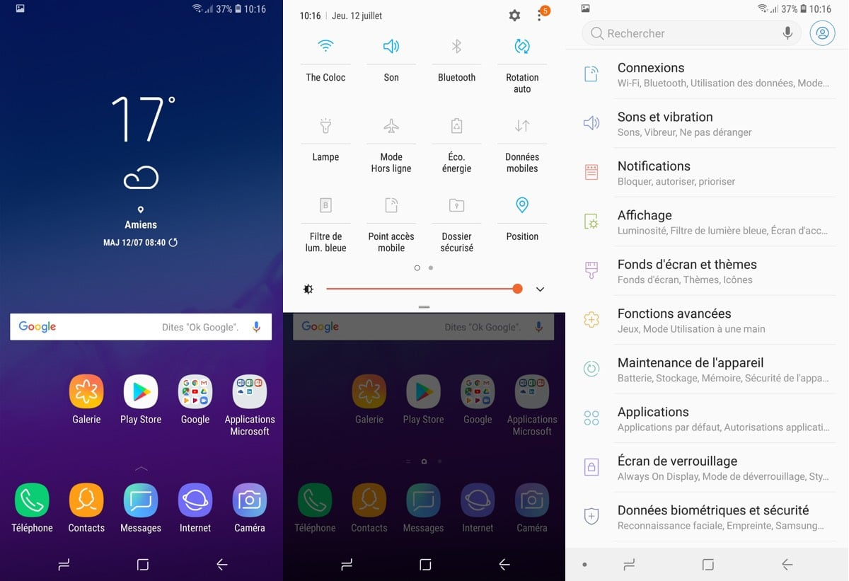 test samsung galaxy a6 plus android oreo