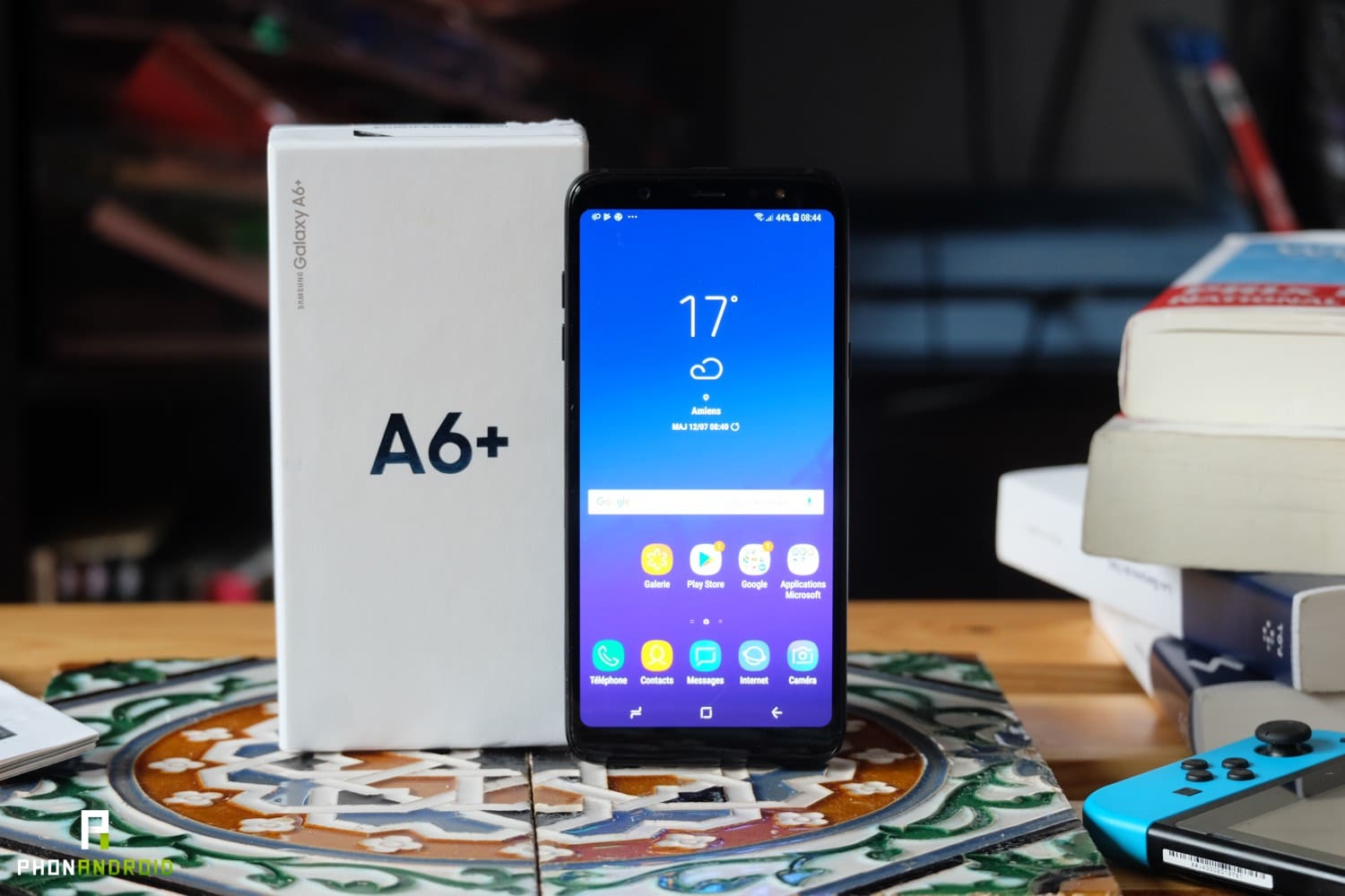 test samsung galaxy a6 plus