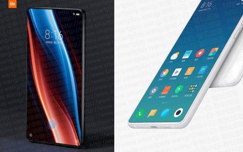 xiaomi mi mix 3 capteur photo retractable