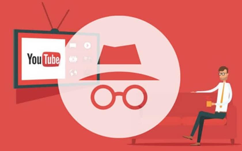 youtube navigation privée