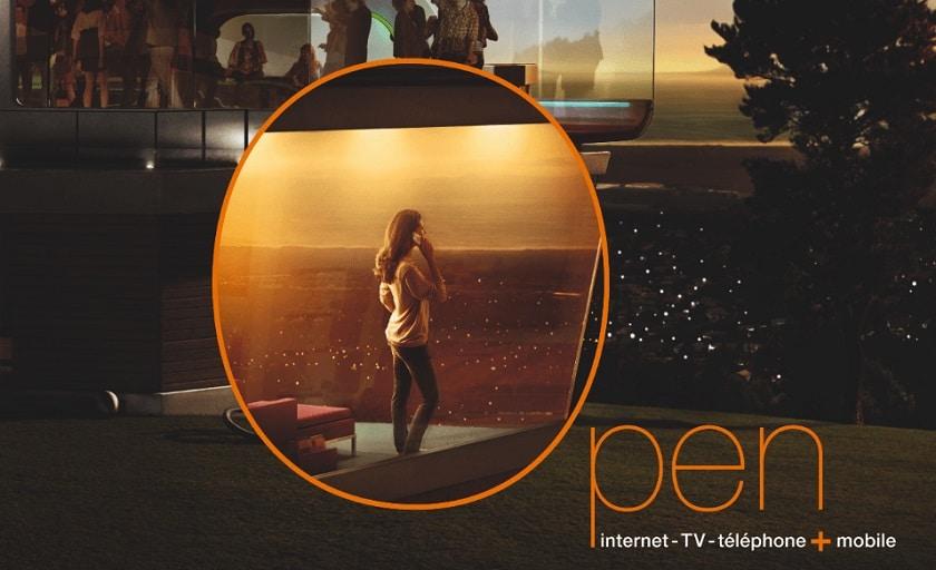 Orange Open Play Internet fibre TV forfait Mobile 30Go à 30.99 € / mois pendant 1 an