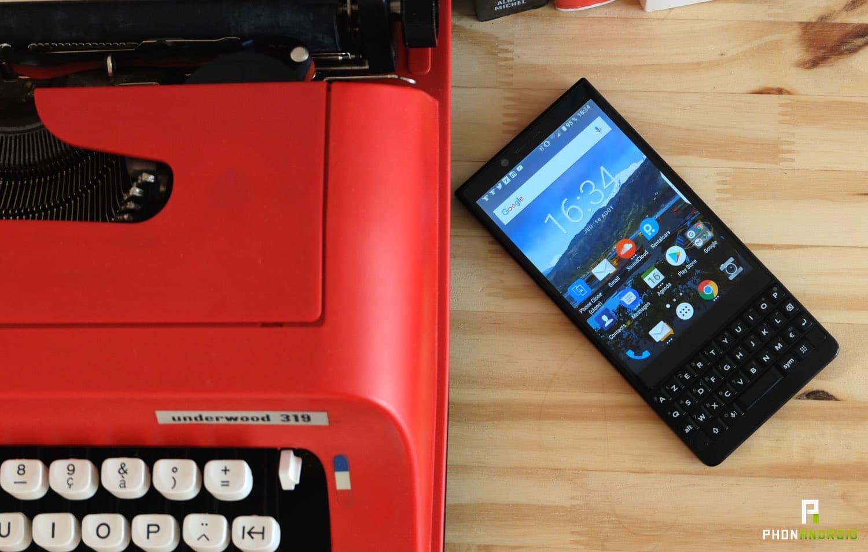 blackberry key2 clavier