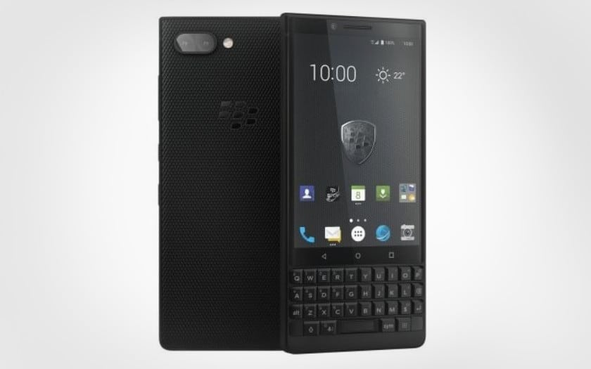 blackberry key2 en promo sur gearbest