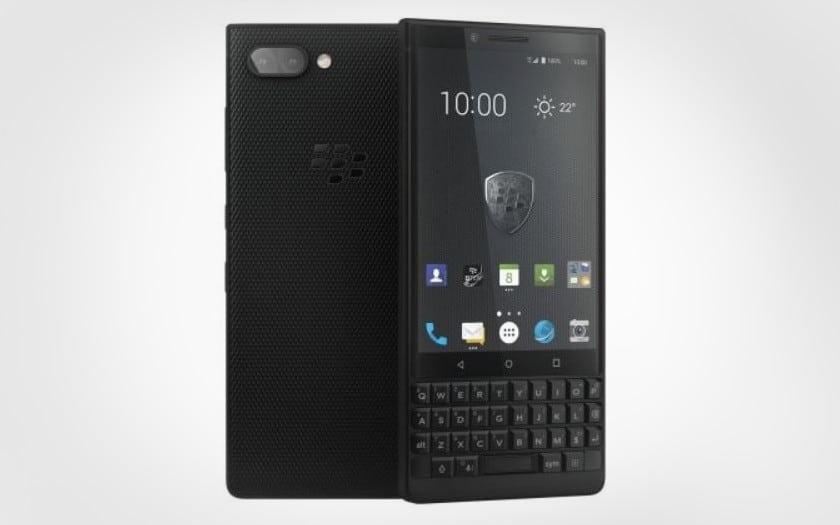 blackberry key2 en promo sur gearbest