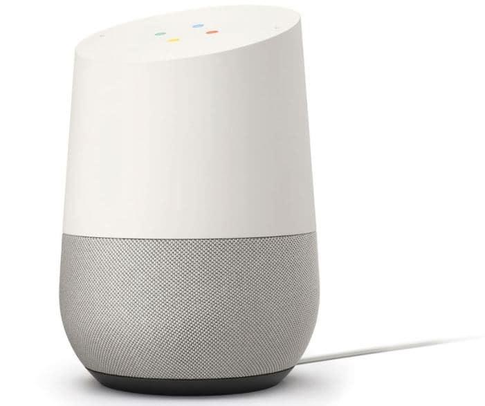 Réinitialiser paramètres d'usine du Google Home