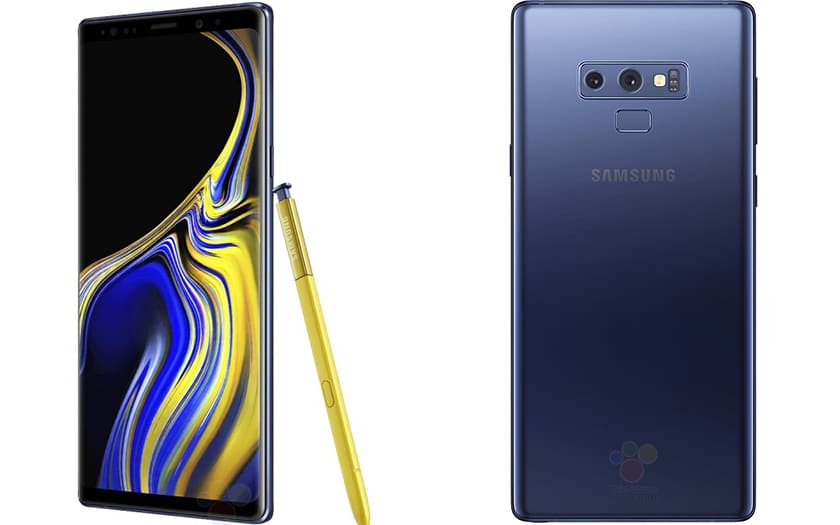 Galaxy Note 9 officiel