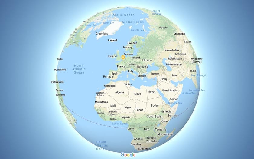 Google Maps trick followers of the flat earth, reactions to Twitter on