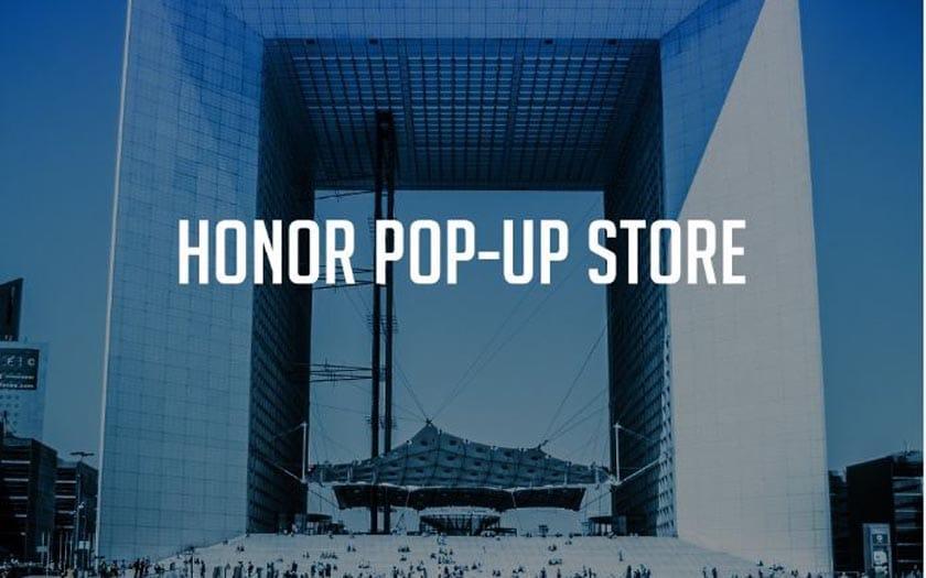 honor ouvre un magasin ph m re paris. Black Bedroom Furniture Sets. Home Design Ideas