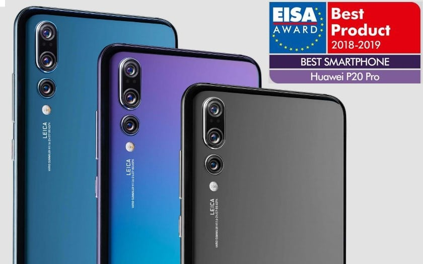 huawei P20 pro smartphone annee