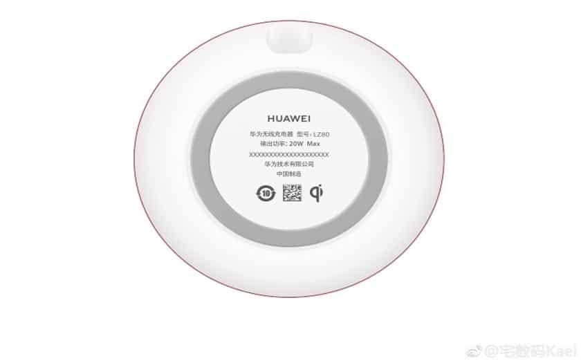 huawei recharge sans fil