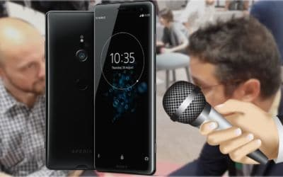 interview sony xperia xz3