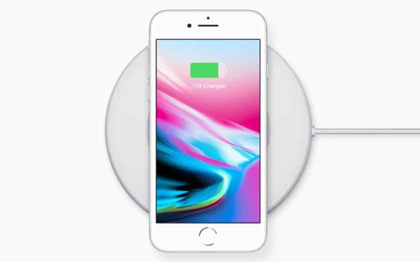 iphone recharge sans fil